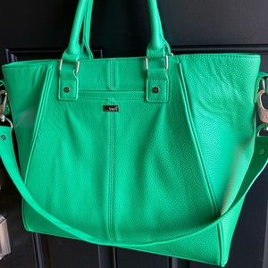 Thirty one Jewell Kelly green tote/shoulder bag